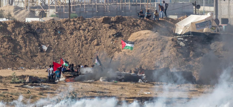 Raketer efter israeliska bombningar