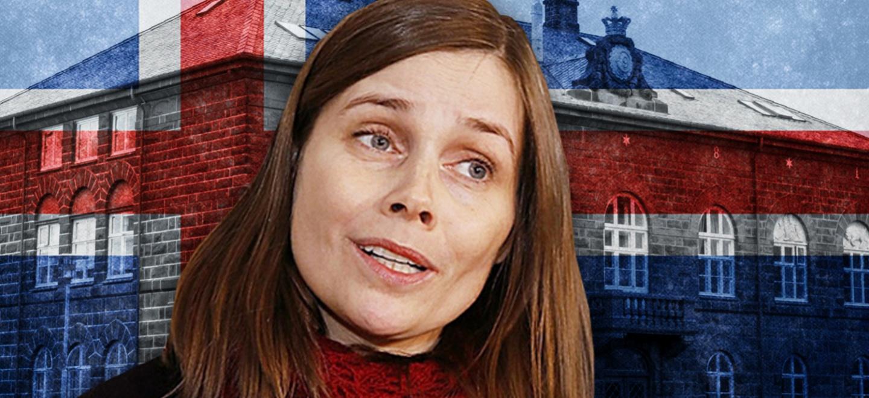 Stora protester mot islands regering