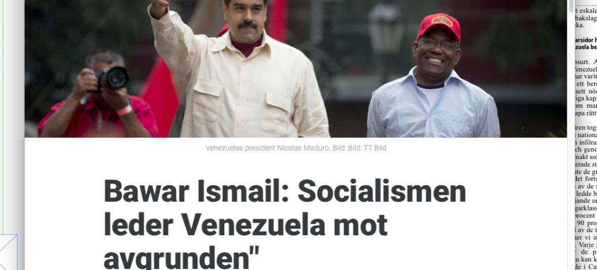 Industrin strejkar mot hugo chavez